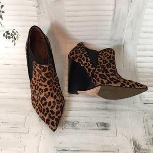 Rachel Roy Shoes - Rachel Roy Alexx calf hair animal print booties